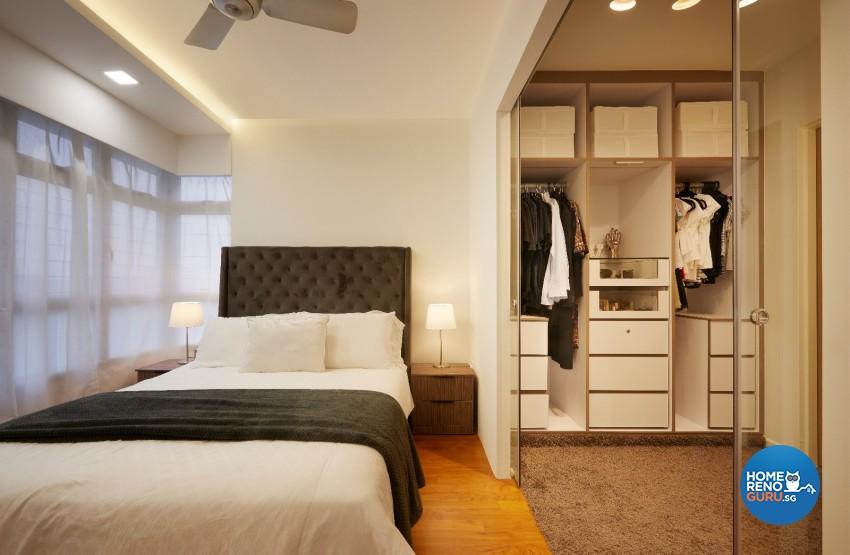 Minimalist, Scandinavian Design - Bedroom - HDB 4 Room - Design by DC Vision Design Pte Ltd