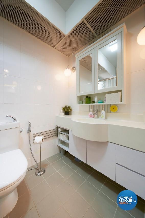 Minimalist, Scandinavian Design - Bathroom - HDB 4 Room - Design by DC Vision Design Pte Ltd
