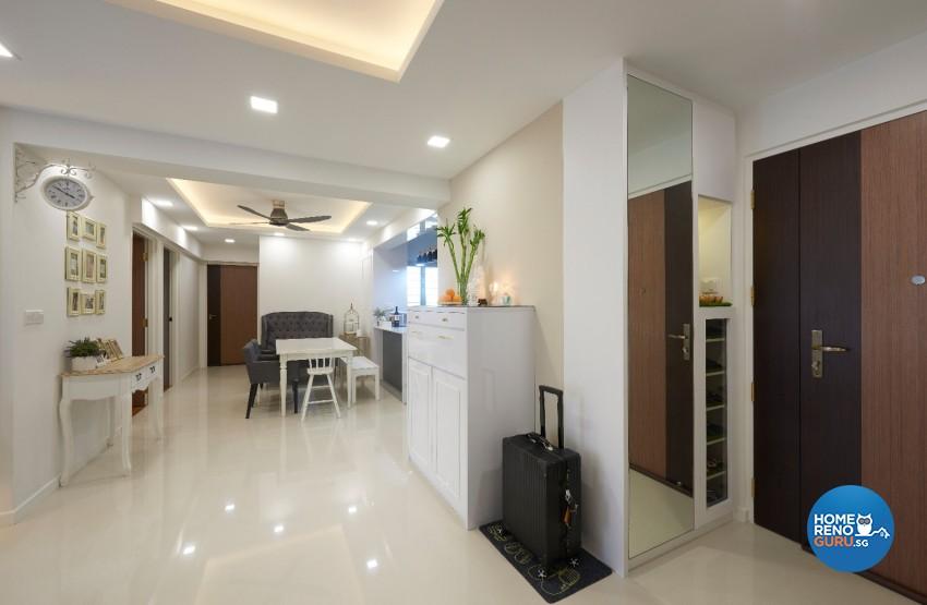 Minimalist, Scandinavian Design - Living Room - HDB 4 Room - Design by DC Vision Design Pte Ltd