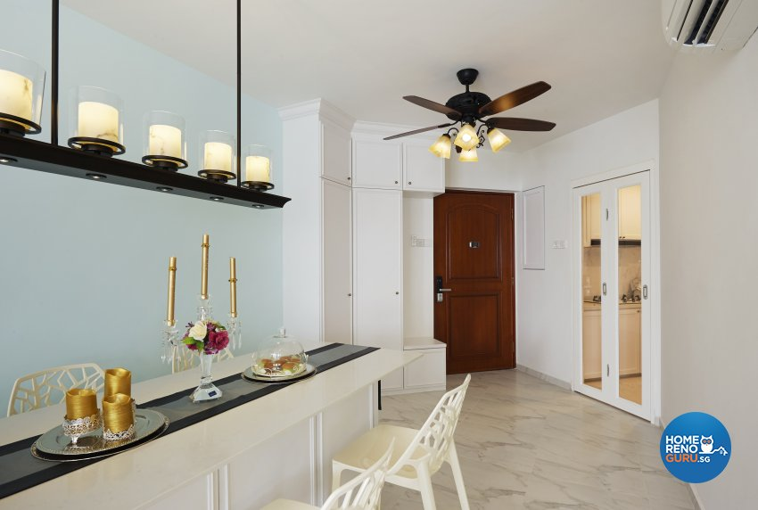 Classical, Contemporary, Modern Design - Dining Room - Condominium - Design by DC Vision Design Pte Ltd
