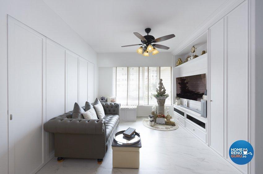 Classical, Contemporary, Modern Design - Living Room - Condominium - Design by DC Vision Design Pte Ltd