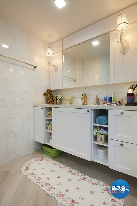 Classical, Contemporary, Modern Design - Bathroom - Condominium - Design by DC Vision Design Pte Ltd