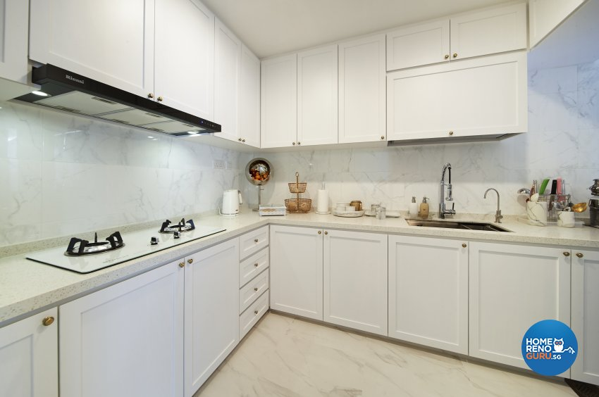 Classical, Contemporary, Modern Design - Kitchen - Condominium - Design by DC Vision Design Pte Ltd