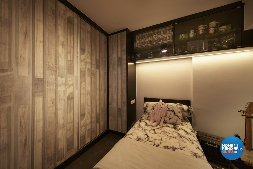 Classical, Eclectic, Vintage Design - Bedroom - HDB 4 Room - Design by DC Vision Design Pte Ltd