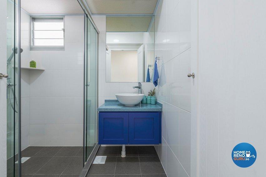Resort Design - Bathroom - HDB 4 Room - Design by De Exclusive Interior Group Pte Ltd