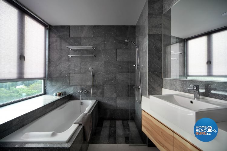 Contemporary, Modern Design - Bathroom - Condominium - Design by De Exclusive Interior Group Pte Ltd