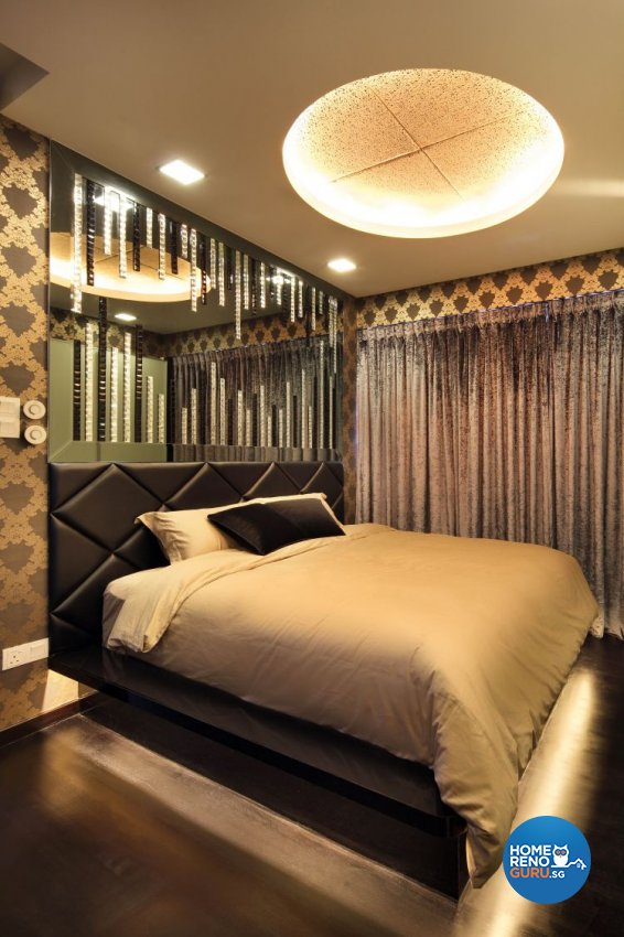 Contemporary, Modern Design - Bedroom - Condominium - Design by De Exclusive Interior Group Pte Ltd