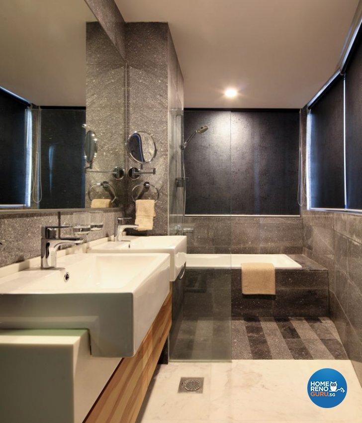Contemporary, Modern Design - Bathroom - Condominium - Design by De Exclusive Interior Group Pte Ltd