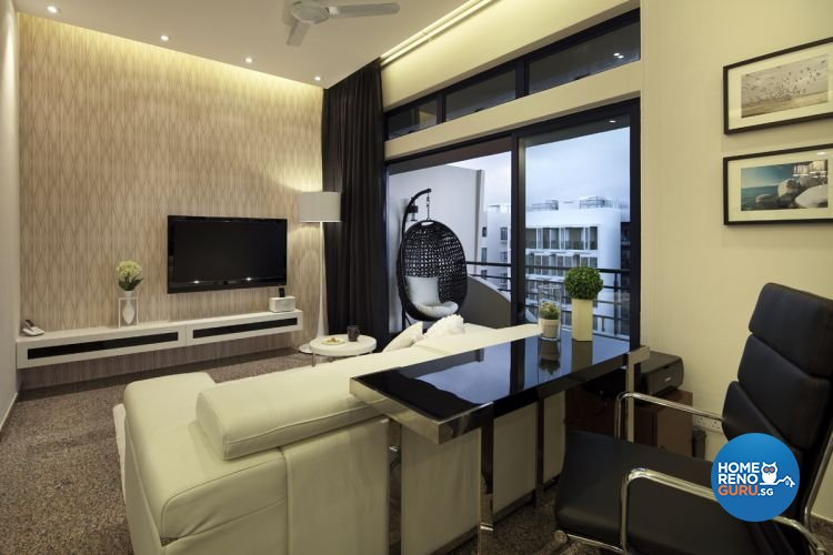 Contemporary, Modern Design - Living Room - Condominium - Design by De Exclusive Interior Group Pte Ltd