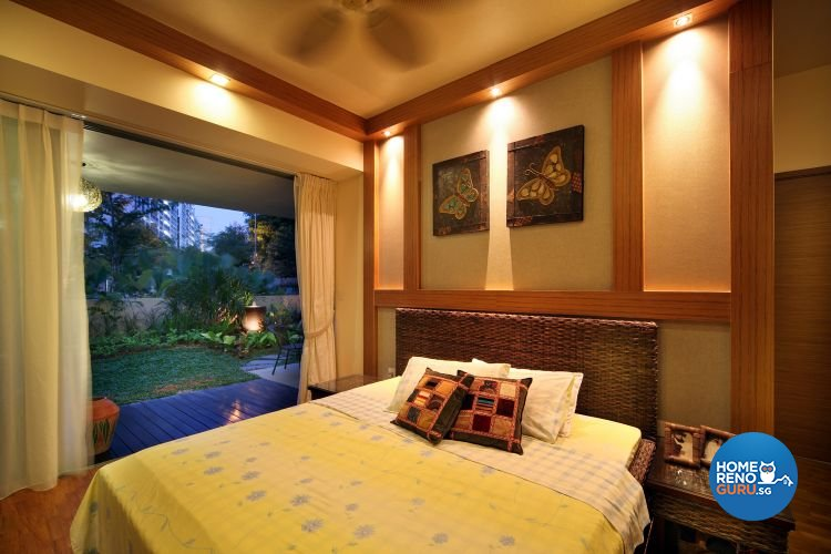 Modern, Tropical Design - Bedroom - Condominium - Design by De Exclusive Interior Group Pte Ltd