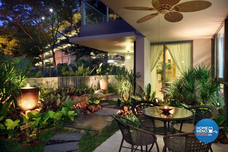 Modern, Tropical Design - Balcony - Condominium - Design by De Exclusive Interior Group Pte Ltd