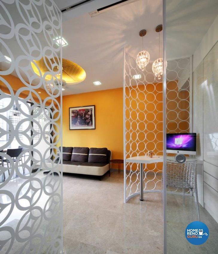 Contemporary, Retro Design - Living Room - Condominium - Design by De Exclusive Interior Group Pte Ltd