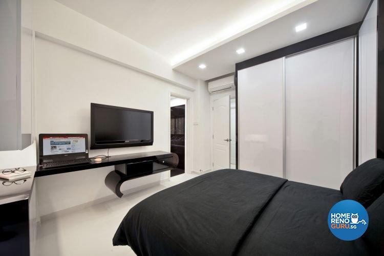 Minimalist, Modern Design - Bedroom - Condominium - Design by De Exclusive Interior Group Pte Ltd