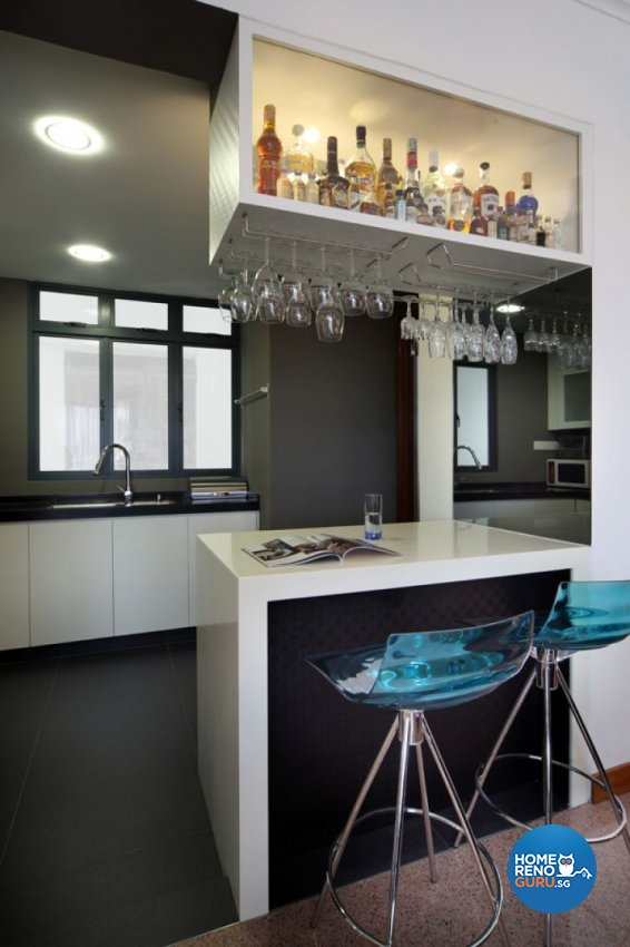 Contemporary, Modern Design - Kitchen - Condominium - Design by De Exclusive Interior Group Pte Ltd
