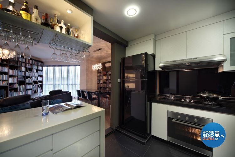 Contemporary, Modern Design - Kitchen - Condominium - Design by De Exclusive Interior Group Pte Ltd