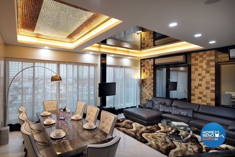 Contemporary, Modern, Victorian Design - Living Room - Condominium - Design by De Exclusive Interior Group Pte Ltd