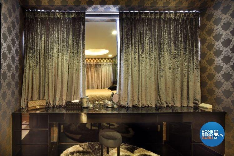 Contemporary, Modern, Victorian Design - Bedroom - Condominium - Design by De Exclusive Interior Group Pte Ltd