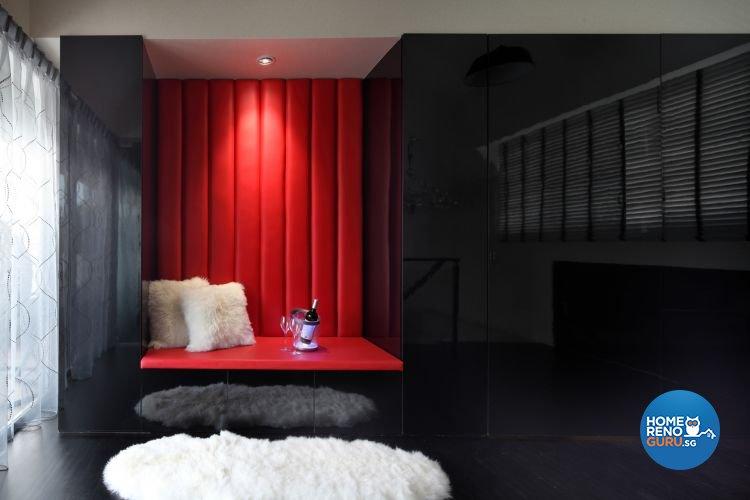 Contemporary, Modern, Victorian Design - Living Room - Condominium - Design by De Exclusive Interior Group Pte Ltd
