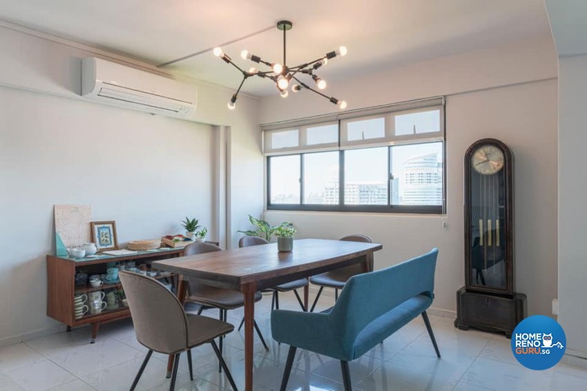 Modern Design - Dining Room - HDB 5 Room - Design by De Exclusive Interior Group Pte Ltd