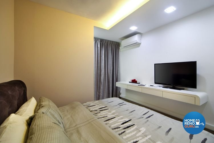 Contemporary, Modern Design - Bedroom - HDB 4 Room - Design by De Exclusive Interior Group Pte Ltd