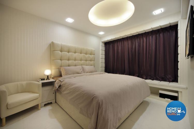Contemporary, Retro Design - Bedroom - HDB 4 Room - Design by De Exclusive Interior Group Pte Ltd