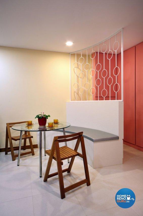 Contemporary, Retro Design - Dining Room - HDB 4 Room - Design by De Exclusive Interior Group Pte Ltd