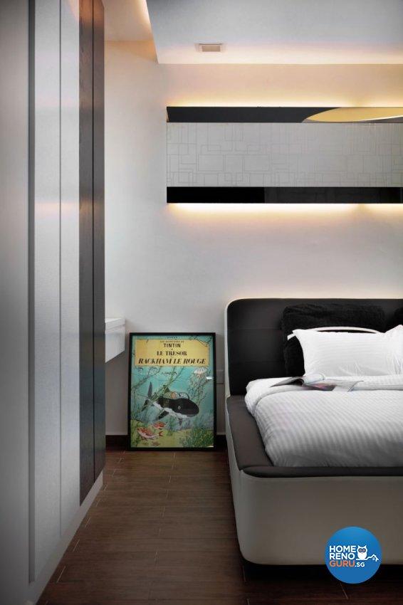Retro, Scandinavian Design - Bedroom - HDB 4 Room - Design by De Exclusive Interior Group Pte Ltd