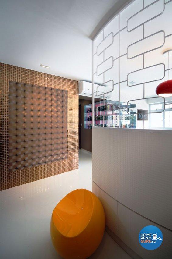 Retro, Scandinavian Design - Living Room - HDB 4 Room - Design by De Exclusive Interior Group Pte Ltd