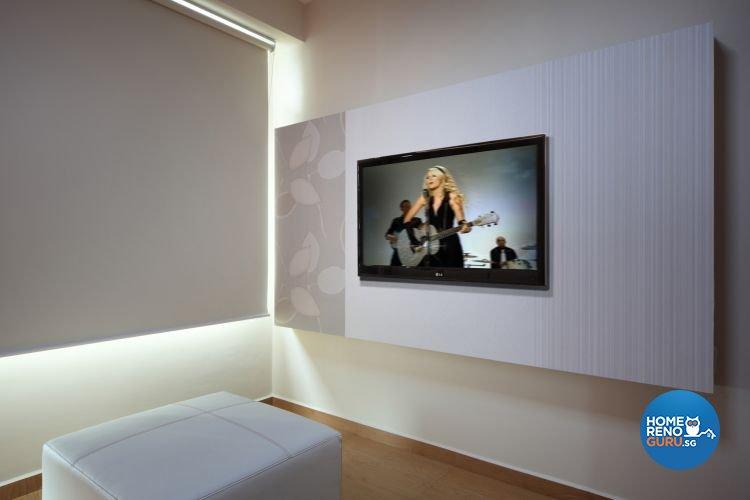 Minimalist, Retro Design - Bedroom - HDB 4 Room - Design by De Exclusive Interior Group Pte Ltd