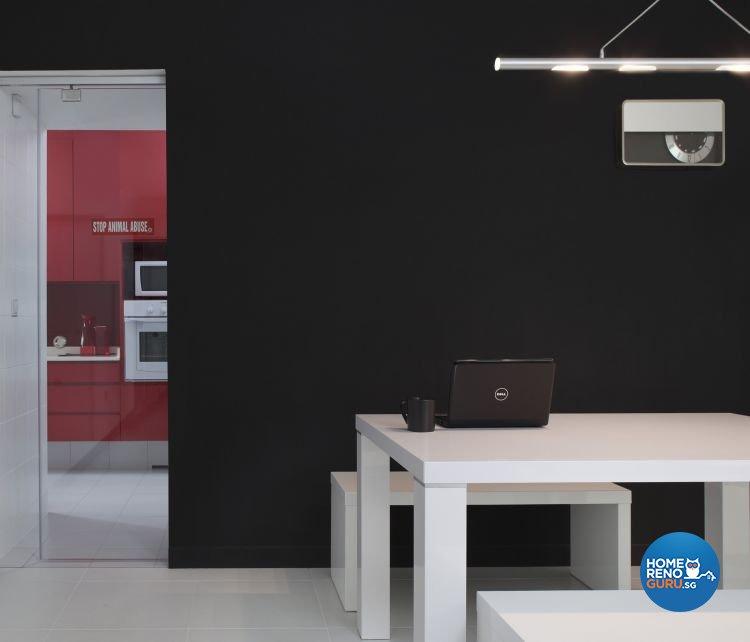 Minimalist, Modern Design - Dining Room - HDB 4 Room - Design by De Exclusive Interior Group Pte Ltd