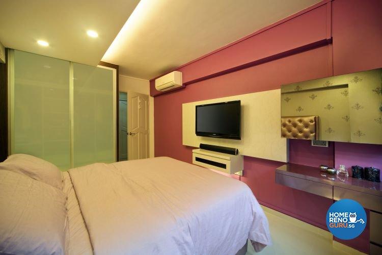 Modern Design - Bedroom - HDB 4 Room - Design by De Exclusive Interior Group Pte Ltd