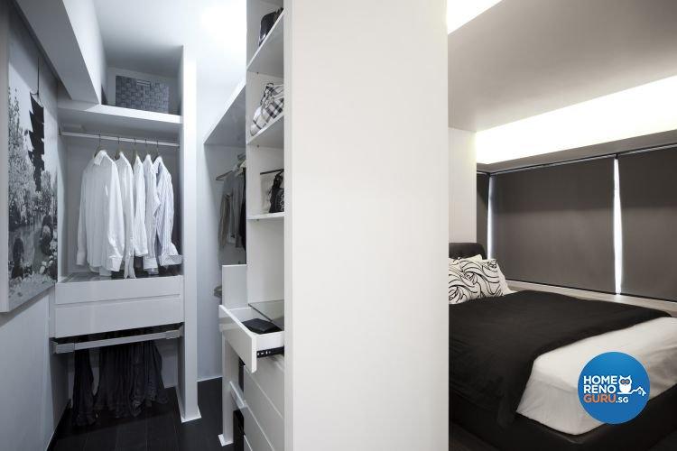 Contemporary Design - Bedroom - HDB 4 Room - Design by De Exclusive Interior Group Pte Ltd