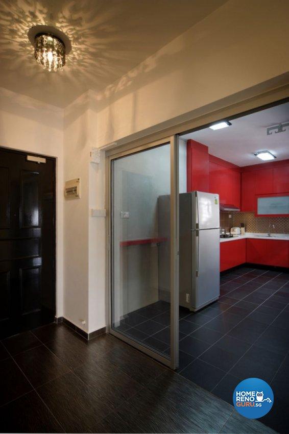 Minimalist, Modern Design - Kitchen - HDB 4 Room - Design by De Exclusive Interior Group Pte Ltd