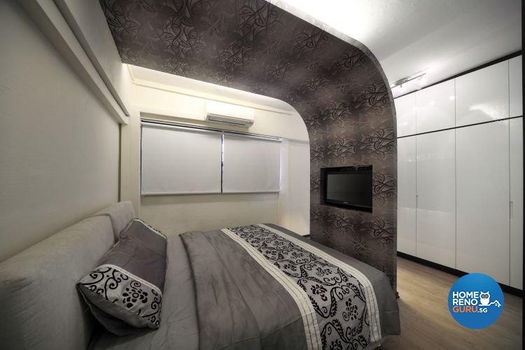 Minimalist, Modern Design - Bedroom - HDB 5 Room - Design by De Exclusive Interior Group Pte Ltd