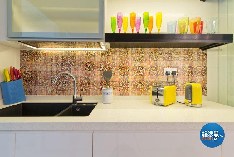 Minimalist, Scandinavian Design - Kitchen - HDB 5 Room - Design by De Exclusive Interior Group Pte Ltd