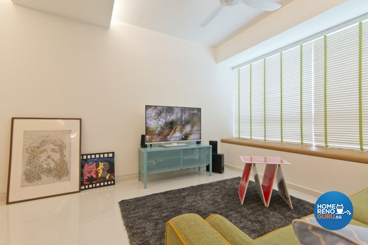 Minimalist, Scandinavian Design - Living Room - HDB 5 Room - Design by De Exclusive Interior Group Pte Ltd