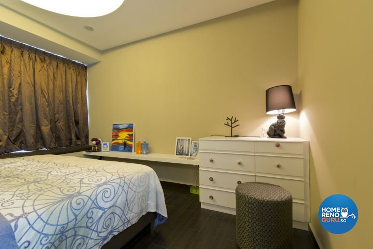 Minimalist, Scandinavian Design - Bedroom - HDB 5 Room - Design by De Exclusive Interior Group Pte Ltd