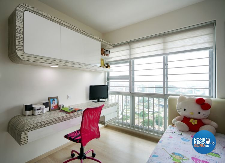 Contemporary, Modern Design - Bedroom - HDB 5 Room - Design by De Exclusive Interior Group Pte Ltd