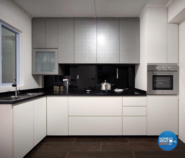 Minimalist, Modern Design - Kitchen - HDB 5 Room - Design by De Exclusive Interior Group Pte Ltd
