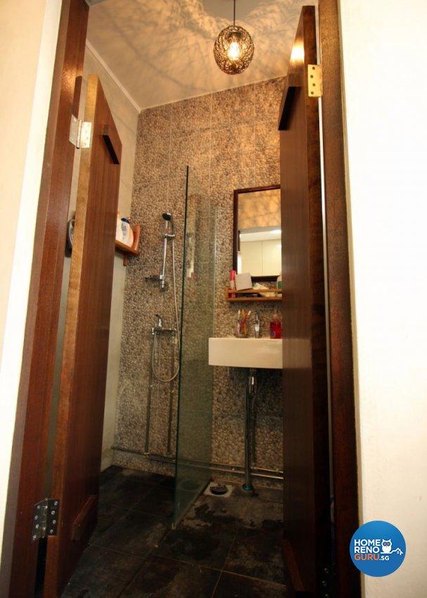 Modern, Tropical Design - Bathroom - HDB 5 Room - Design by De Exclusive Interior Group Pte Ltd
