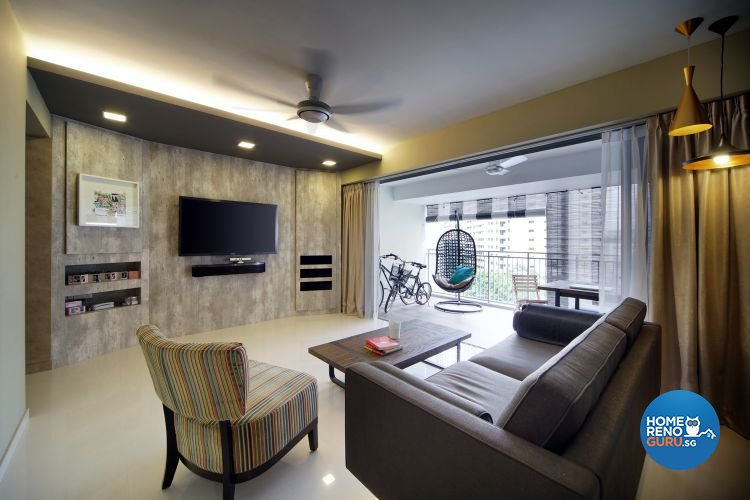 Contemporary, Modern Design - Living Room - Others - Design by De Exclusive Interior Group Pte Ltd