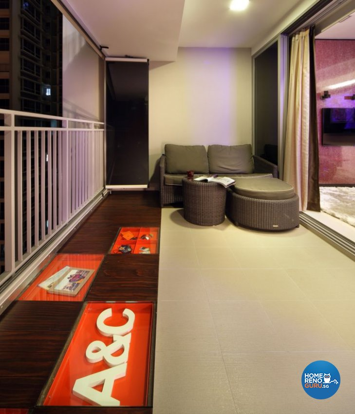 Contemporary, Modern Design - Balcony - Others - Design by De Exclusive Interior Group Pte Ltd
