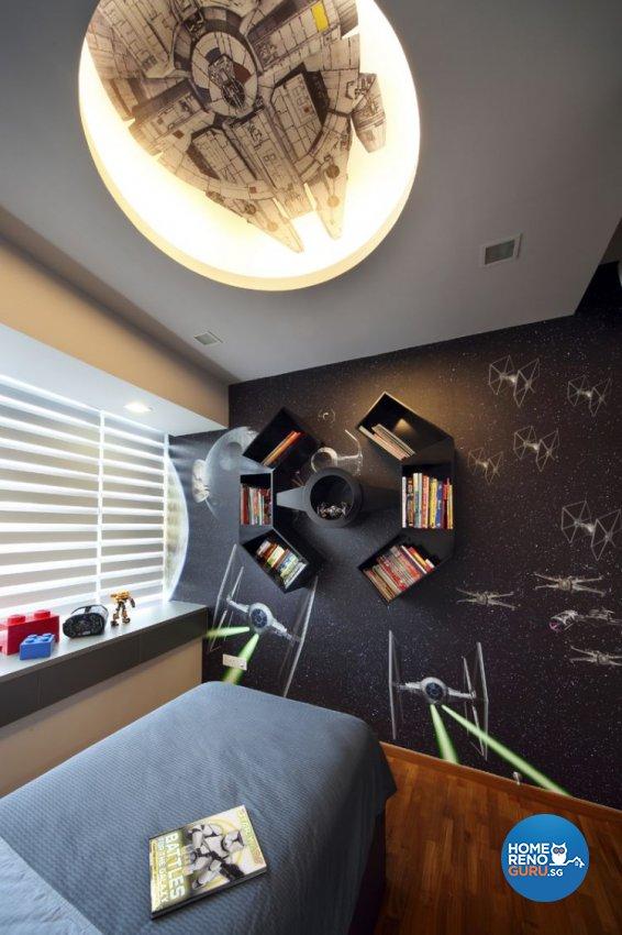 Contemporary, Modern Design - Bedroom - Condominium - Design by De Exclusive Interior Group Pte Ltd