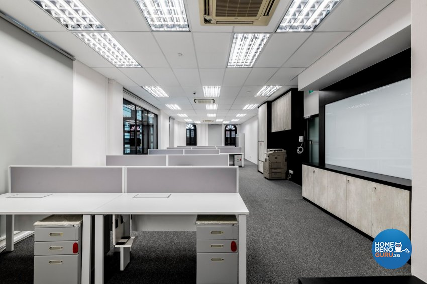 Industrial, Modern Design - Commercial - Office - Design by De Exclusive Interior Group Pte Ltd