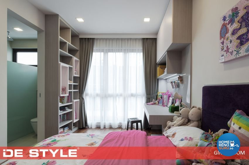 Contemporary Design - Bedroom - Landed House - Design by De Style Interior Pte Ltd