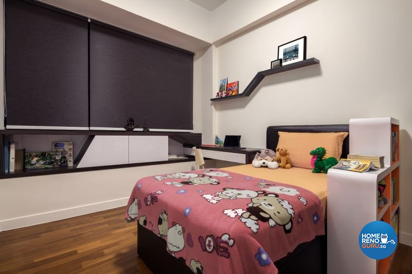 Modern Design - Bedroom - Condominium - Design by De Style Interior Pte Ltd