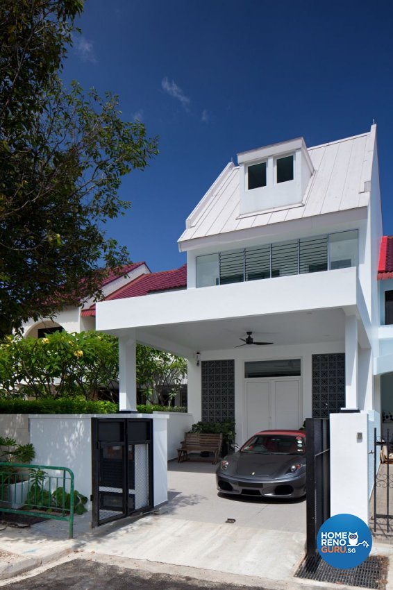 Scandinavian Design - Garden - Landed House - Design by De Style Interior Pte Ltd