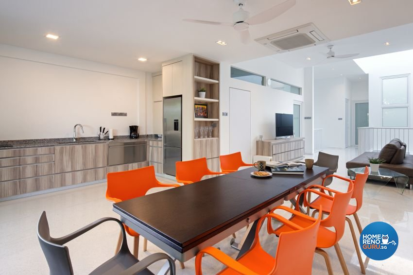 Scandinavian Design - Dining Room - Landed House - Design by De Style Interior Pte Ltd