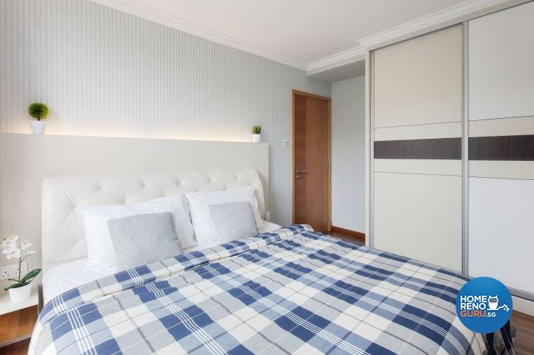 Contemporary, Scandinavian Design - Bedroom - Condominium - Design by De Style Interior Pte Ltd