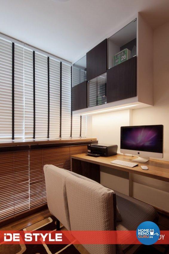 Condominium Study Room: De Style Interior Pte Ltd Condominium 3 Bedroom Changi